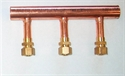"Picture of 1"" Header, 5/8"" PEX Compression Adapter (Supply)"